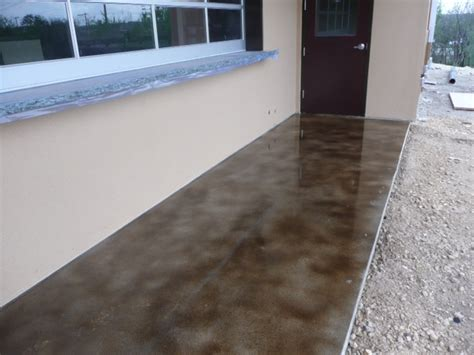 Acid Stain Concrete Sealer Gallery