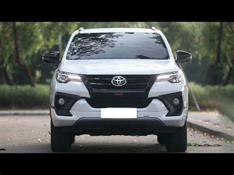 toyota fortuner facelift youtube
