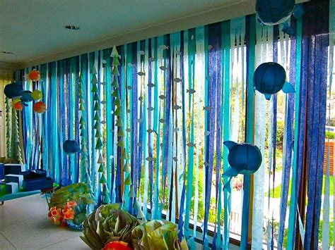 sea themed decor 25 best ideas about ocean party decorations on pinterest mermaid party decorations under the