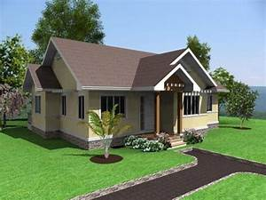 simple house design 3 bedrooms in the philippines simple With simple three bedroom house design