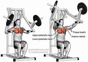 Machine Chest Press Exercise Instructions And Video
