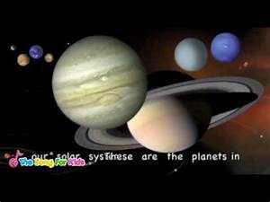 The Planets Song - The Song For Kids Official - YouTube