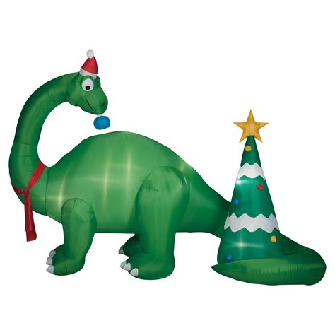 foot brontosaurus scene inflatable decoration