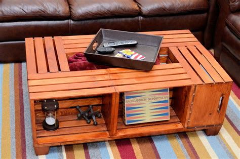 kitchen island  storage diy wooden crate coffee table