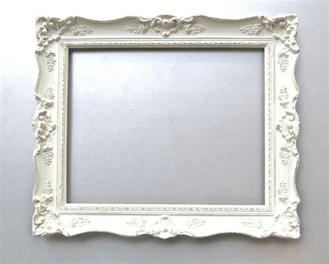 large shabby chic frames shabby cottage chic frame large vintage frame ivory french