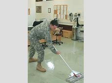 More scrubbing for troops as cleaning contracts cut on