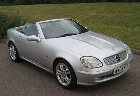 We have taken some long trips that have been quite comfortable for two people. 2004 MERCEDES BENZ SLK 230 KOMPRESSOR TIPTRONIC AUTO SPECIAL EDITION IN SILVER FOR SALE