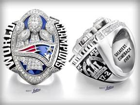 New England Patriots Super Bowl Rings