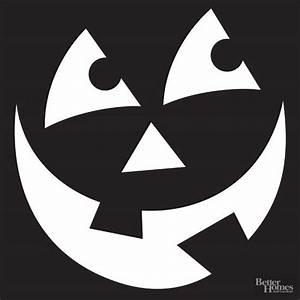 wide smile pumpkin stencil With small halloween pumpkin templates