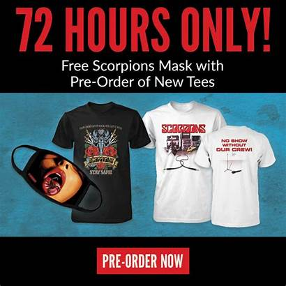 Scorpions Merch Hour Crew Special Road Advertisements