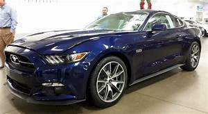 Kona Blue 2015 Ford Mustang GT 50th Anniversary Fastback - MustangAttitude.com Photo Detail