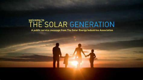 americas  national tv  web campaign  solar