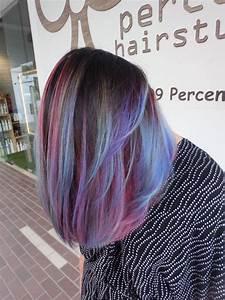 Blaue Haare Ombre : opal galaxy hair colour katong hair color crazy bunte haare frisur ideen und haarfarben ~ Frokenaadalensverden.com Haus und Dekorationen