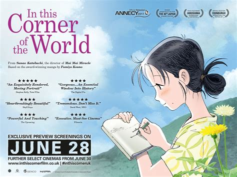 Anime Movie In This Corner Of The World In This Corner Of The World Showing At Edinburgh