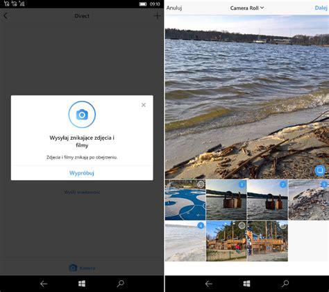 instagram wprowadza znikające zdjęcia i filmy w windows 10 mobile i pc msmobile pl