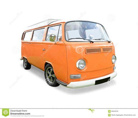 orange volkswagen van orange vw cer van stock photo image of orange