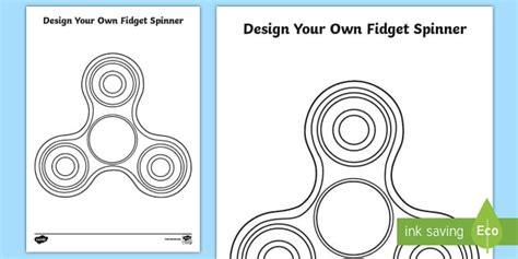fidget spinner printable template design your own fidget spinner activity sheet fidget spinner