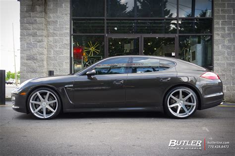 porsche panamera   savini bm wheels exclusively