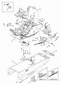 Ski Doo 1997 Mach - 1  Frame And Accessories