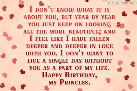 Every day is special when i am below is 10 sweet happy birthday wishes for ex boyfriend. Birthday Wishes For Girlfriend - Page 1