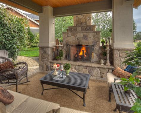 Outdoor Patio Designs With Fireplaces Outdoor Patio