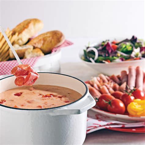 cuisine à l italienne fondue au fromage à l 39 italienne recettes cuisine et