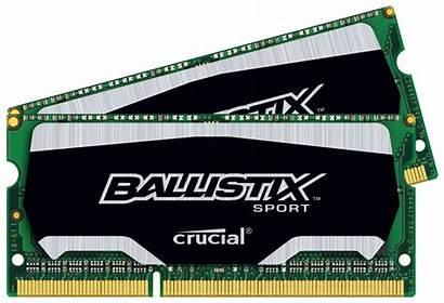 Ballistix Crucial Sodimm Sodimms Memory Ddr3 8gb