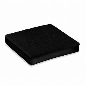 forever comfy seat cushion in black bed bath beyond With bed bath beyond gel seat cushion