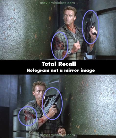 total recall   mistake picture id