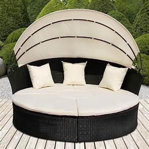 Sonneninsel Rattan Braun : sonneninsel mit tisch rattan sonneninsel polyrattan gartenmuschel sonnenliege fw ebay ~ Indierocktalk.com Haus und Dekorationen