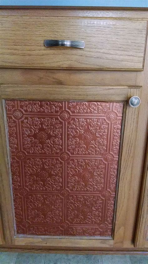 Cabinet Doors Facelift by 17 Best Images About Pressed Tin Paintable Wallpaper On