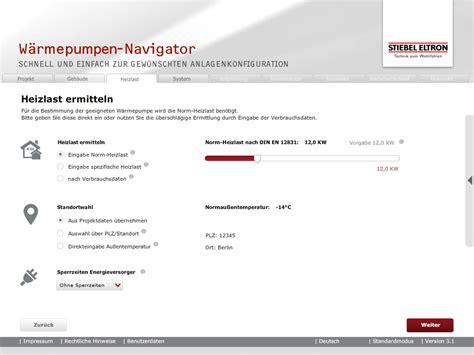 Waermepumpen Navigator by W 228 Rmepumpen Navigator Mbc App Und Softwareentwicklung