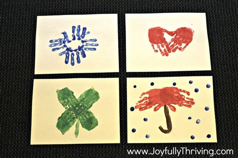 how to make a handprint calendar 945 | Handprint Calendar Pictures January February March April Great preschool parent gift idea 1024x682