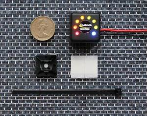 Voltacube 8 Led 12v Solar Cell Charge Battery Monitor
