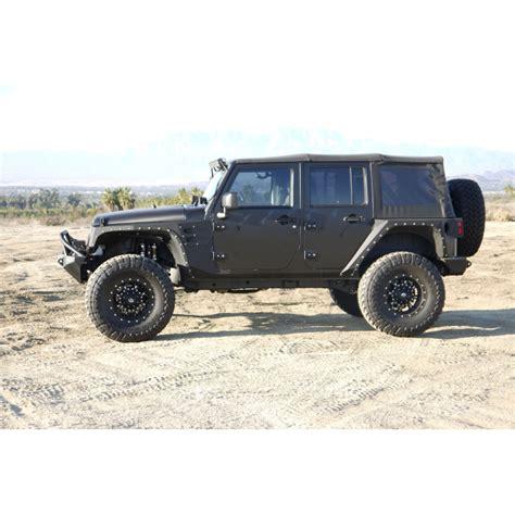 how make cars 2007 jeep wrangler parking system 2007 2018 jeep jk 4 5 quot suspension system stage 1 k24001
