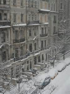 Upper West Side Manhattan Winter