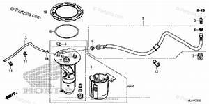 Honda Side By Side 2015 Oem Parts Diagram For Fuel Pump