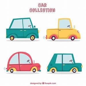 Cote Voiture Gratuite Avec Kilometrage : collection de voiture de dessin anim avec vue de c t t l charger des vecteurs gratuitement ~ Gottalentnigeria.com Avis de Voitures