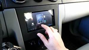Android Car Tablet On-screen Volume Control