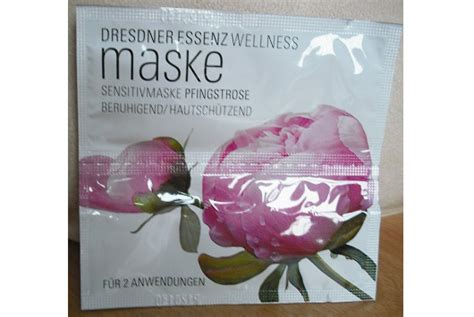 Test - Maske - Dresdner Essenz Wellness Gesichtsmaske
