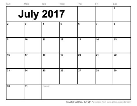 2017 calendar template word july 2017 calendar word printable 2017 calendars