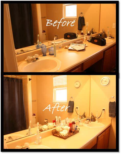 delightfully organized quick simple bathroom vanity