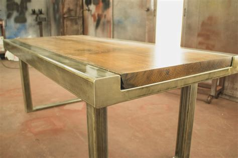Custom Dining Table  Beer City Metal Works & Construction. White Train Table With Drawers. Furinno Coffee Table. Office Desk Arrangement. Desk Craigslist. Step 2 Art Desk. Square Dining Table. Small Adjustable Height Table. Gift For Office Desk