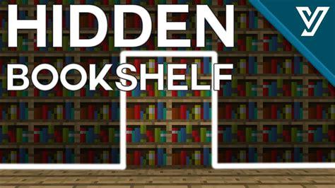 Minecraft Secret Bookcase Door by Tutorial Tiny Bookshelf Door For Minecraft 1 11