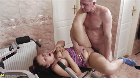 Erika M In Lucky Old Man Fucking A Cute Redhead Teen