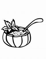 Coloring Soup Pages Rice Bowl Drawing Getdrawings Popular sketch template