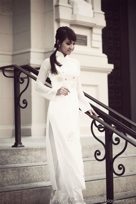 collection ao dai vietnam classic style   black