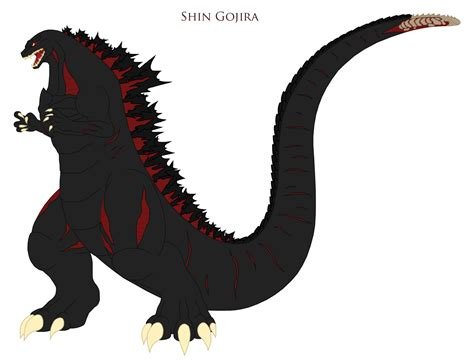 Shin Gojira By Pyrus-leonidas On Deviantart