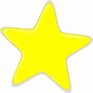 Yellow Star Editedr Clip Art at Clker.com - vector clip ...