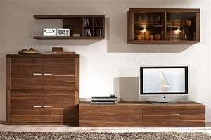 Meuble Salon Bois : meubles de salon en bois ~ Teatrodelosmanantiales.com Idées de Décoration